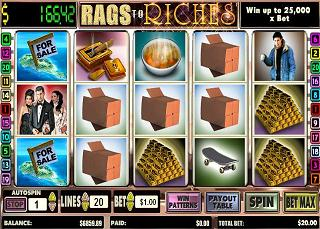 Rags to riches game